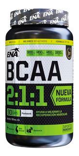 Bcaa 2:1:1 Ena Aminoacidos X 90 Caps Recuperacion Muscular