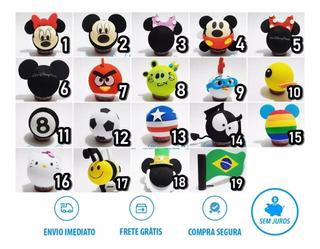 Enfeite Para Antena De Carro! Mickey, Minnie - Sem Juros