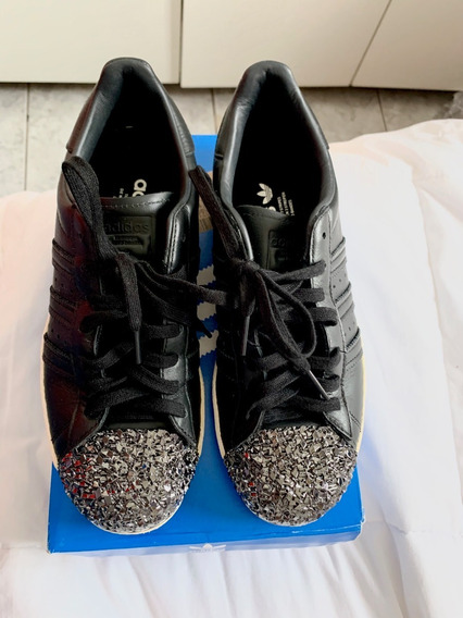 Tênis Couro adidas Originals Superstar 80s Mt