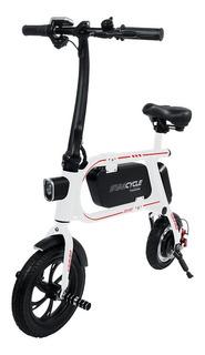 Bicicleta Electrica Swagtron Bici Recargable Scooter Blanco