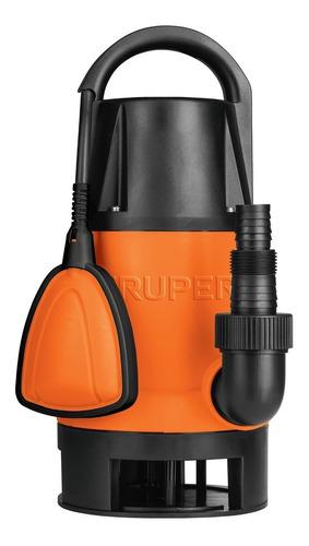 Imagen 1 de 6 de Bomba Sumergible Plástica P/agua Sucia 1-1/2 Hp Truper 12604