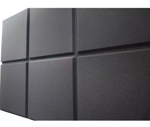 Espuma Acústica Kit C/ 50 Placas-50cm X 50cm X 2cm-lisa Novo