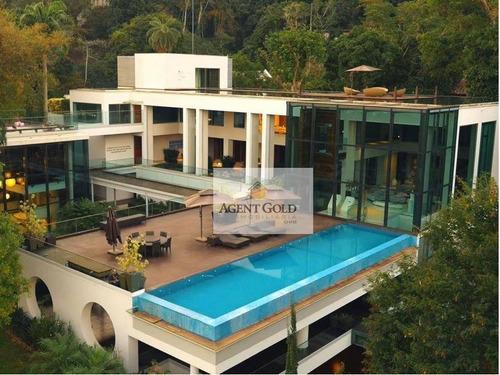 Imagem 1 de 30 de Casa Com 7 Dormitórios À Venda Por R$ 70.000.000,00 - Jardim Botânico - Rio De Janeiro/rj - Ca0388