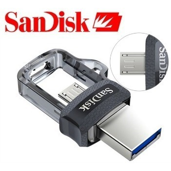 Pen Drive Otg 32gb 3.0 Sandisk Usb Ultra Dual Drive