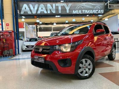 Fiat Mobi Way 1.0 Completo 2018 Único Dono Baixa Km