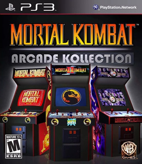 Mortal Kombat Arcade Kollection ~ Ps3 Digital Español