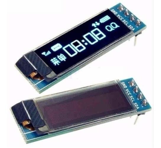 Display Oled Azul 128x32 Pixel 0,91 Polegadas 4 Pinos I2c