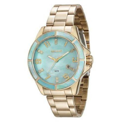 Relógio Seculus Feminino Dourado 20498lpsvds2