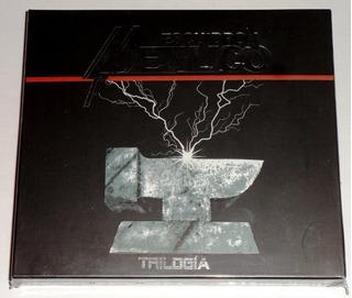 V/a Escuadrón Metálico 3-cd Boxset + Parche Limitado Heavy