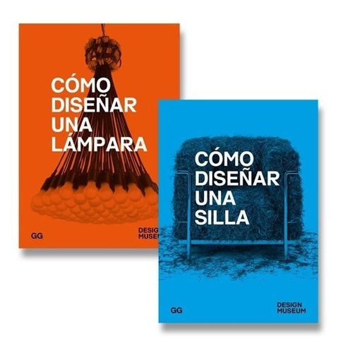 Como Diseñar Una Lámpara / Una Silla. Paquete De Libros (2)