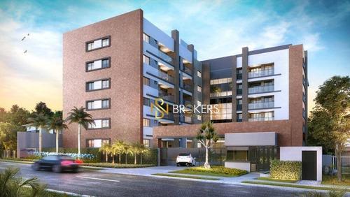 Apartamento Com 2 Dormitórios À Venda, 71 M² Por R$ 560.000,00 - Bom Retiro - Curitiba/pr - Ap1052