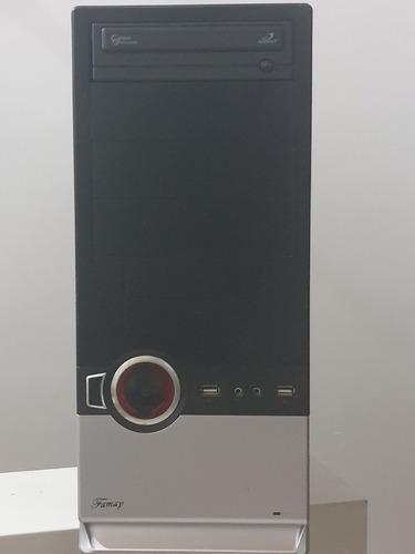 Imagen 1 de 7 de Cpu Computadora Pc Intel Core 2 Quad - 4gb Ram - 320gb Hdd