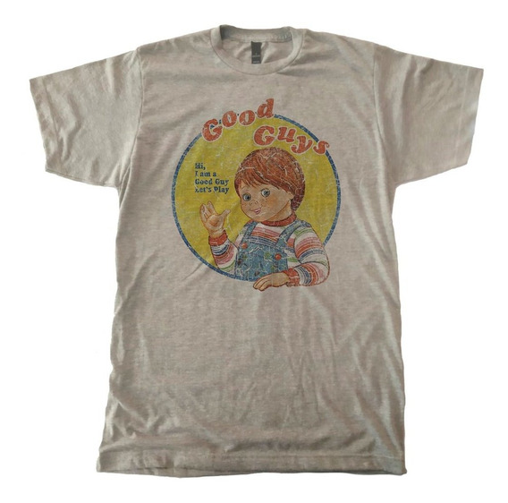 Playera Chucky Pelicula Childsplay Good Guys