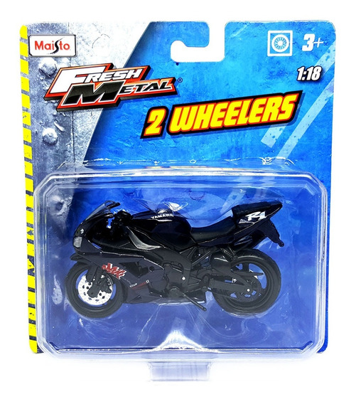 Motos Escala Miniatura 2 Wheelers 1/18 Maisto Fresh Metal