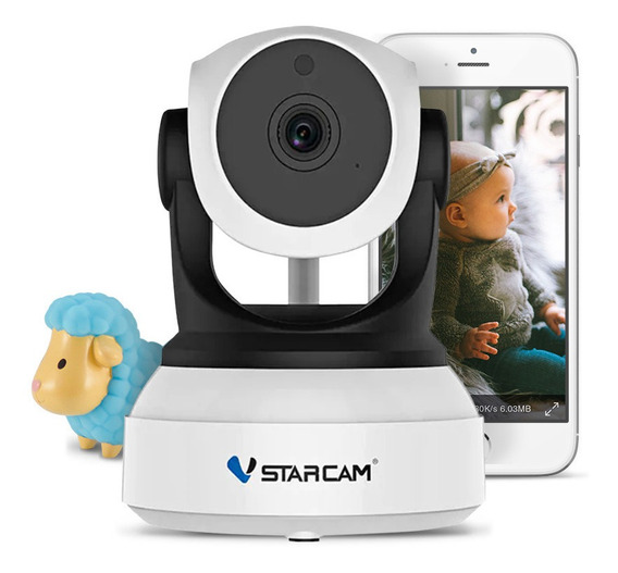 Baby Call Monitor Infantil Camara Bebe Seguridad Ip Wifi Inalambrica Motorizada Ir Celular Vstarcam