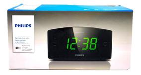 Rádio Relógio Philips Original Digital Fm Despertador Bivolt