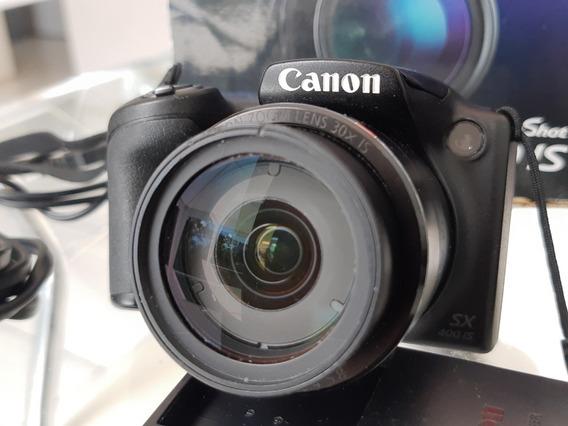Frete Grátis! Câmera Canon Sx400is + Itens
