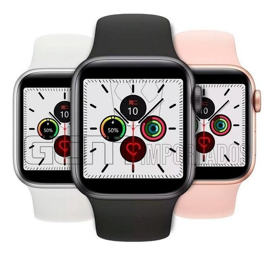 Smartwatch Iwo 12 Série 5 44mm +película +case Android/ios