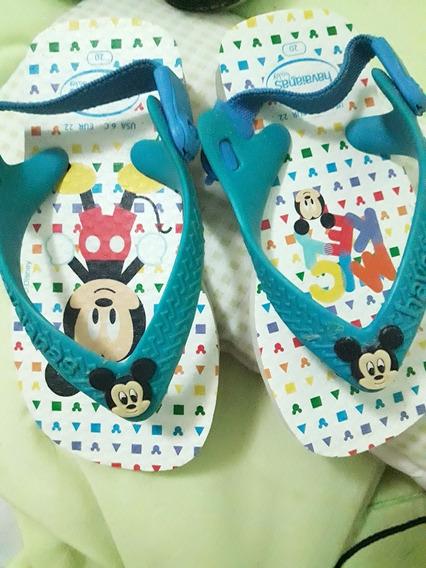 Ojotas Havaianas Mickey Mouse