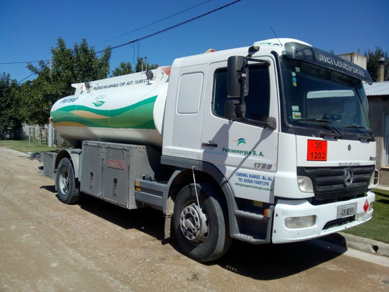 Camion Cisterna Reparto Combustible 10m3 Atego 17/25