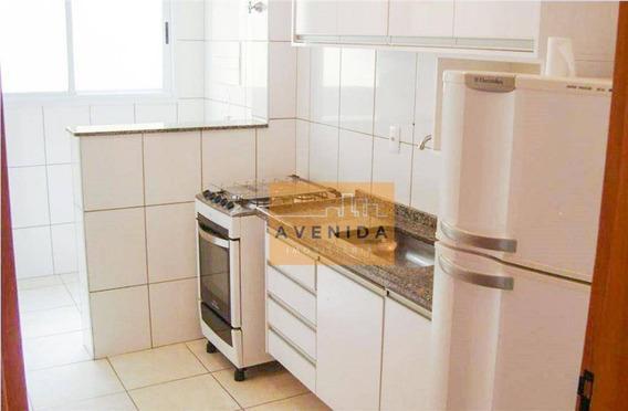Apartamento Com 3 Dormitórios À Venda Por R$ 430.000 - Jardim America - Paulínia/sp - Ap0450