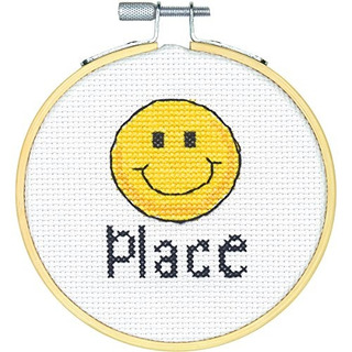 7275244 Stitch Wits Happy Place Mini Counted Cross Stitch Ki