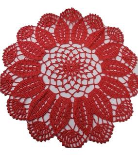 Carpetas Crochet En Hilo, Modelo Margarita