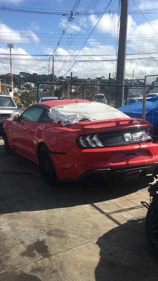 Ford Mustang Gt 2018 Sucata Para Venda De Peças
