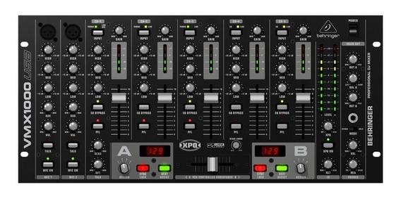 Mixer 7 Canais Behringer Vmx1000usb Garantia 2 Anos