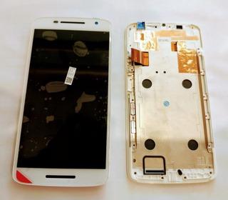 Modulo Pantalla Moto X Play Xt1563 *original* Motorola Blanco