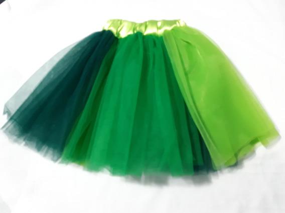 Tutu Colores Para Niña Disfraz Primavera