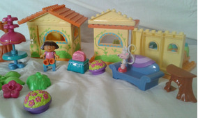 Casa De Muñeca Para Niñas Usado Juguete