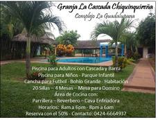 Granja Recreativa La Cascada Chiquinquireña - La Guadalupana