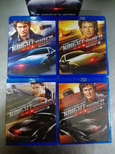 El Auto Fantastico Knight Rider La Serie Completa Bluray Mercado Libre