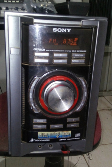 Som Sony Mp3 Genezi Mhc Ec68usb Usb Radio Am/fm