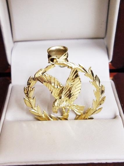 Dije De Oro Amarillo 14k Tipo Aguila ..