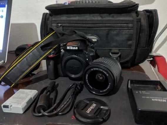 Câmera Nikon D3300 + Bolsa! Novíssima! Menos De 5mil Clicks!
