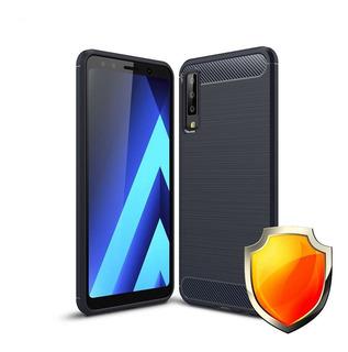 Capa Anti Impacto Samsung Galaxy A7 2018 + Película De Vidro