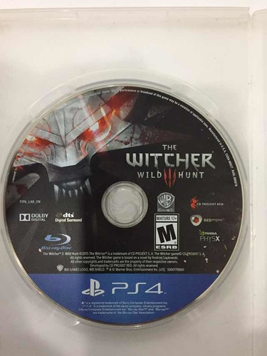 Imagen 1 de 1 de The Witcher Ps4