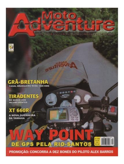 Moto Adventure N°52 Yamaha Xt 660r Honda Cg 125 Fan Comet