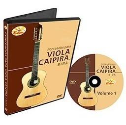 Curso De Ponteados P Viola Caipira Em Dvd - V1 E V2 - Edon