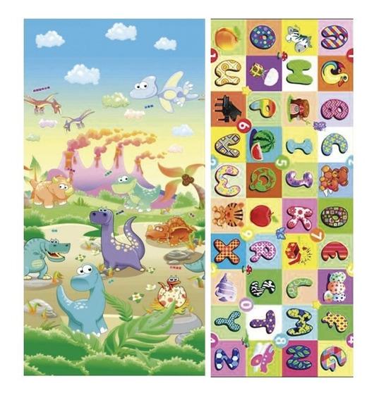 Alfombra Play Mat 150 X 180 X 2cm Dinosaurios