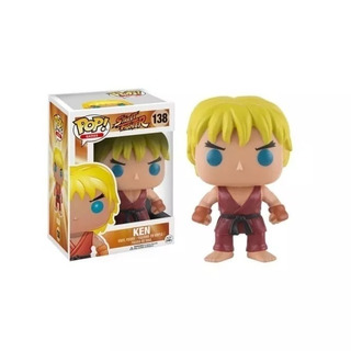 Funko Pop 138 Ken Street Fighter Playking