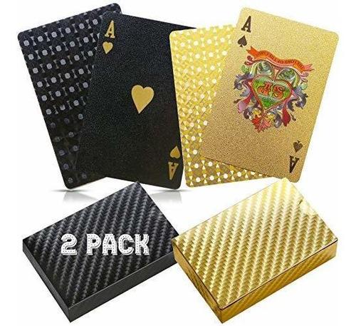 Cartas De Juego De Poker Betterline 2 Con Diseño De Lamina N