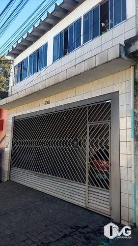Sobrado À Venda, 258 M² Por R$ 495.000,00 - Jardim Rosa De Franca - Guarulhos/sp - So0204
