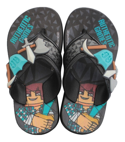 Chinelo Infantil Masculino Authentic Games Super Flop