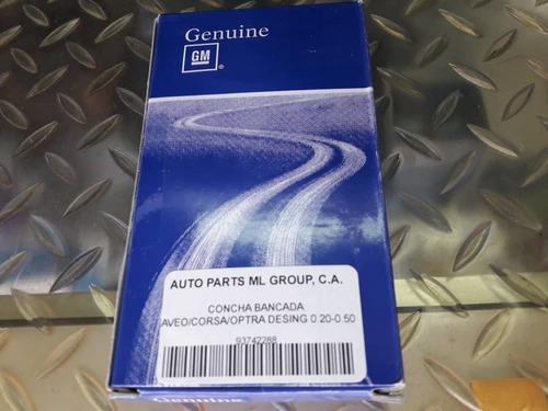 Concha Bancada Aveo Optra Desing Corsa Cruze 020-050 Orig Gm