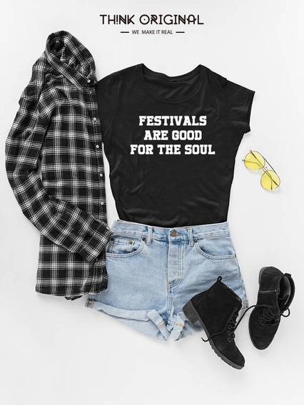 Playera Mujer Festivales