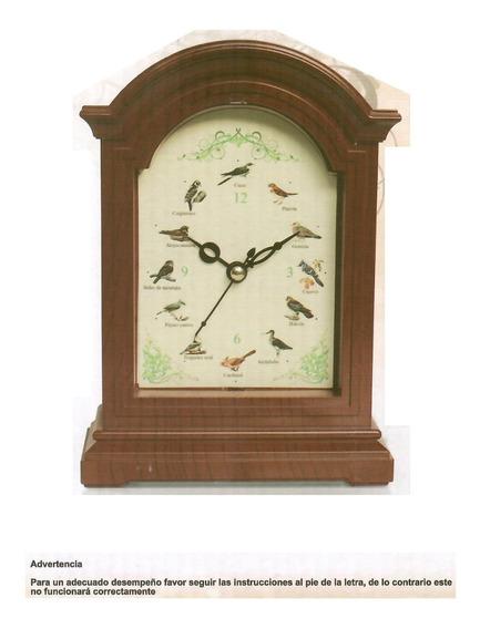 Reloj Musical De Pared Elegante Y Decorativo Coleccionistas