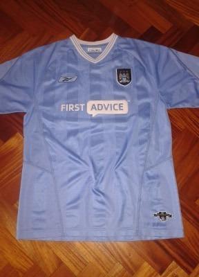 Camiseta Manchester City 2003-04 Reebok T L